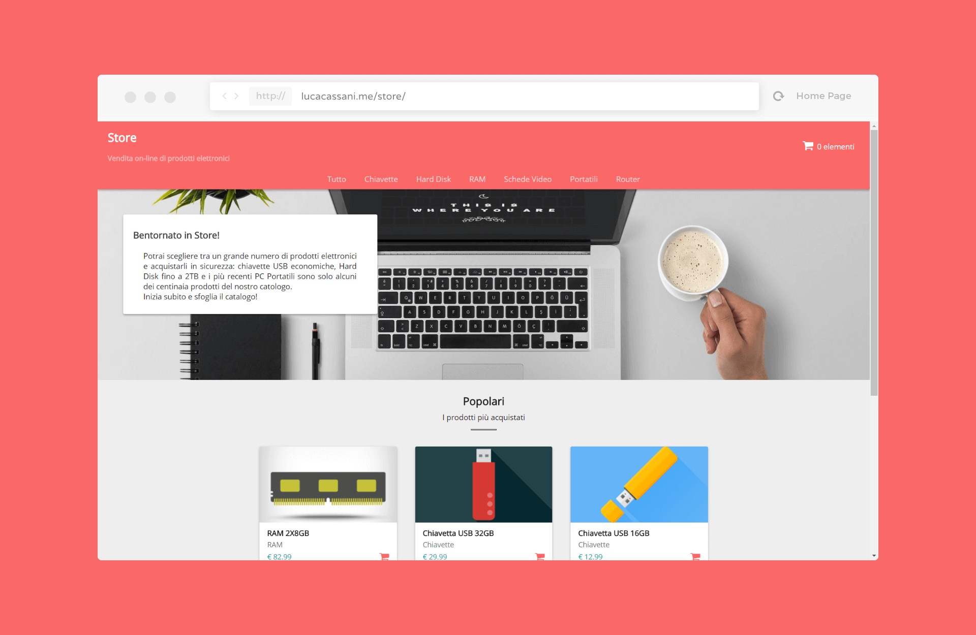 Material Design E-Commerce